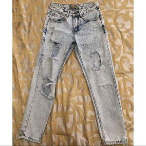👖 BOOHOO Boyfriend Jeans US 4 (W26/ L28)